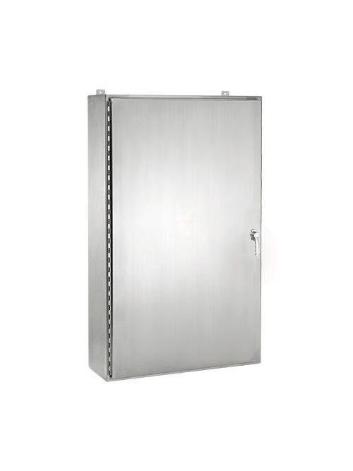 Hoffman A24H2006SS6LP3PT 316 Stainless Steel 3-Point Type 4X Wall Mount Enclosure
