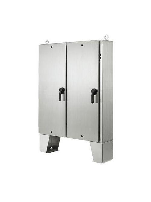 Hoffman A72HX7312SSLPQT Type 4X 2-Door Stainless Steel Disconnect Enclosure