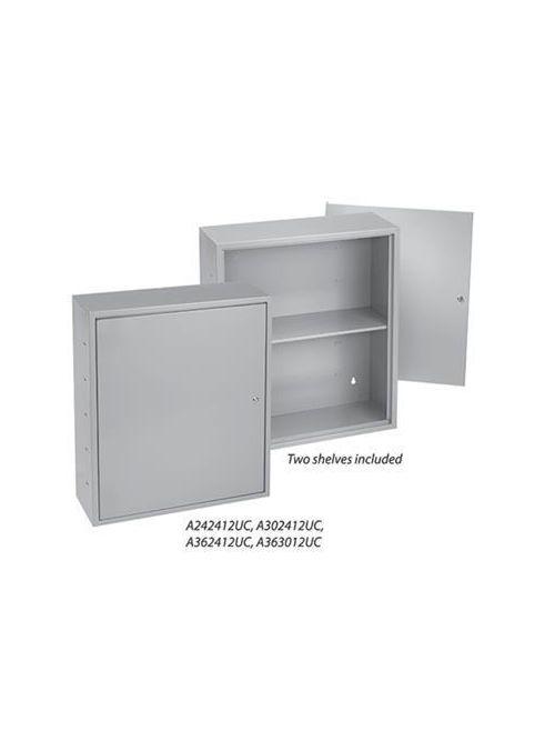 Hoffman A363012UC 36 x 30 x 12 Inch Gray Steel NEMA 1 Locking Utility Box