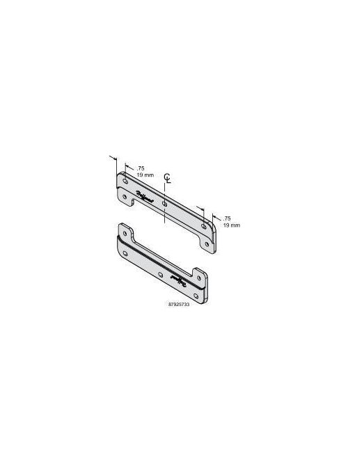 Hoffman APOLYFT6 6 Inch Polyester Mounting Bracket Kit