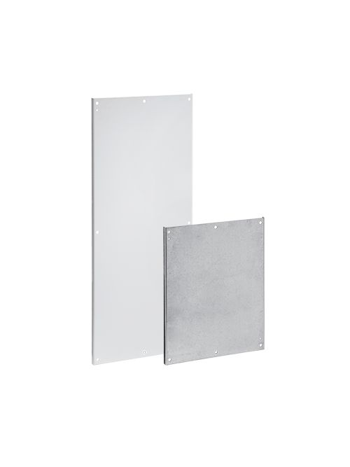 Hoffman A72P36F1G 60 x 32 Inch Conductive White Polyester Powder Painted 12 Gauge Steel Panel