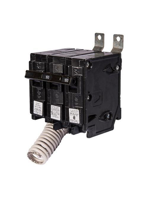 Siemens Industry B21500S01 2-Pole 120/240 Volt 15 Amp 10 kaic Type BL Circuit Breaker with 120 Volt Shunt