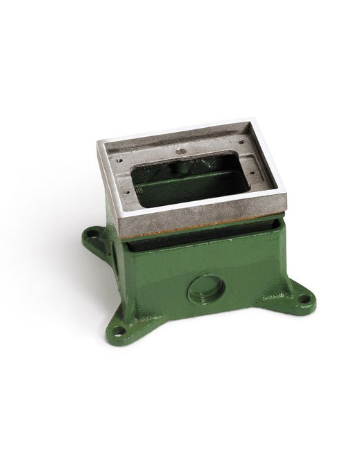 LEW 1101-58-A FULLY ADJ FLOOR BOX,