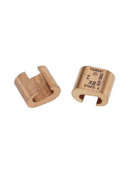 Panduit CTAP2/0-2/0-X Heavy Duty 1/0-2/0 AWG STR Copper Compression CTaps