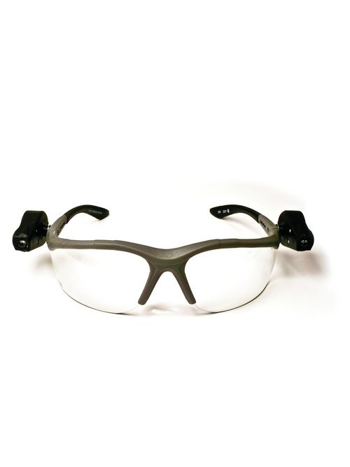 3M Industrial Safety 70071539962 11476-00000-10 Light Vision 2 Clear Anti-Fog Lens Gray Frame Lights 10/Case Safety Eyewear