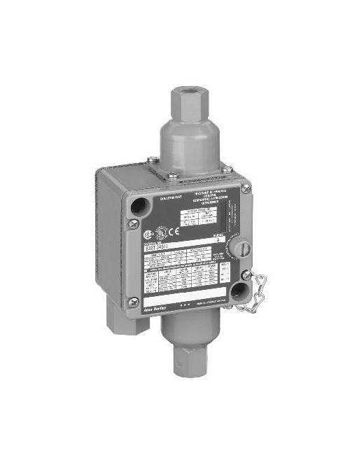 Allen-Bradley 836T-D462J Electro Mechanical Pressure Control Switch