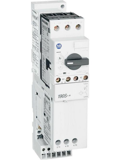 Allen Bradley 190S-DND2-DC25C 18 to 25 Amp Compact Combination Starter with Circuit Breaker
