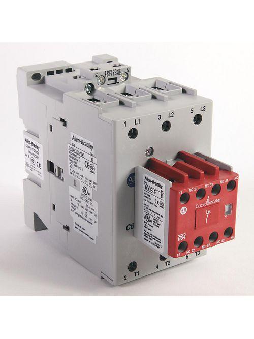 Allen-Bradley 100S-C60DJ04C 60 Amp MCS Safety Contactor
