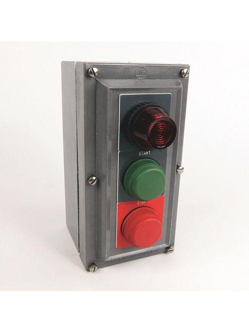 Allen-Bradley 800H-2HAR4R 30 mm Push Button Station