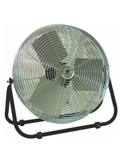 TPI Corporation F24TE 24 Inch 120 Volt 1-Phase 1.5 Amp 1/8 Hp 1634 RPM Industrial Workstation Floor Fan