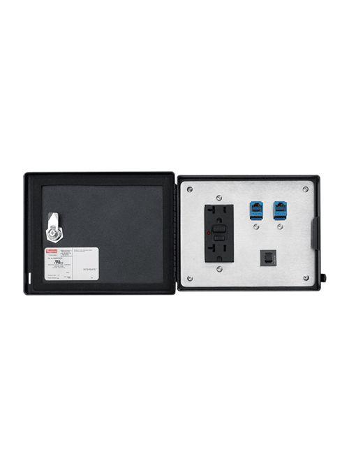 Hoffman HDP5ETHETH 5 Amp 120 VAC Steel ?Ethernet Data ?Interface? Port