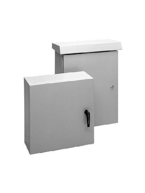 Hoffman ECL806020CH 31.5 x 23.62 x 7.87 Inch Aluminum NEMA 4X Enclosure Hinge Cover