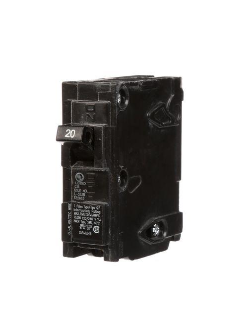 S-A Q120U Breaker 20A 1P 120V 10K Q