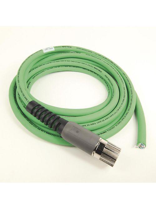 Allen Bradley 2090-CFBM7DF-CDAF04 MP Series 4 m Length Motor Feedback Cable