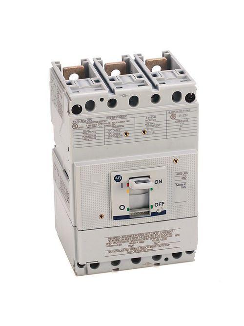 Allen-Bradley 140G-J0F3-D25 140G 250A J Frame