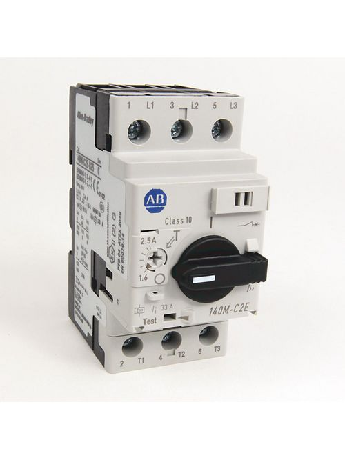 Allen-Bradley 140M-C2E-A40 MPCB 0.25 - 0.4 Amp Standard Performance Frame Size C Magnetic Trip