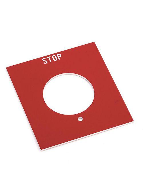 Allen-Bradley 800H-Y50 NEMA 7&9 Push Button Legend Plate