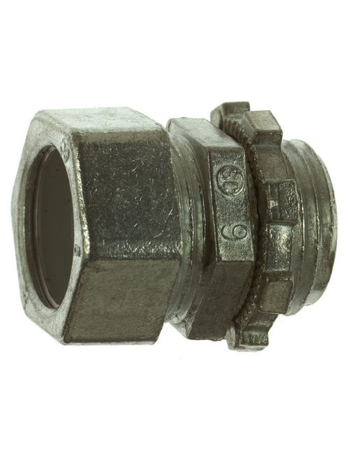 Steel City TC-219-SC 3-1/2 Inch EMT Die-Cast Compression Connector