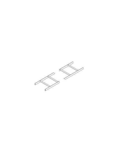 B-Line Series SB17T12FB 1-1/2 x 12 Inch Flat Black Structural Steel Cable Runway Tubular Stringer