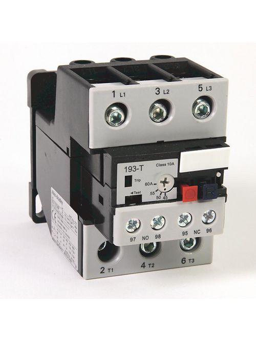 Allen-Bradley 193-T1DC60 45-60 Amp IEC Bimetallic Overload Relay