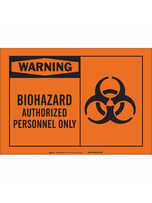 Brady 21800 Alert Sign