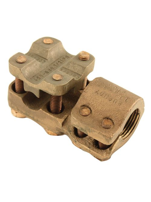 Burndy NDR6428T16 3/4-16 Inch 6 to 4/0 AWG Copper Stud Connector