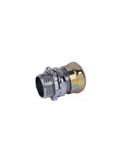 Steel City TC111ANRT 1/2 Inch Raintight Non-Insulated EMT Compression Connector