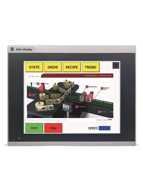 Allen-Bradley 2711R-T10T Panelview 800 10.4 Inch Hmi Terminal