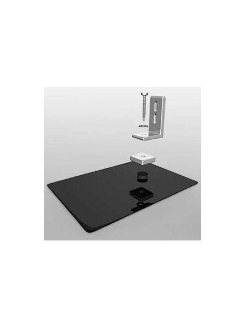 Unirac 004400C 4 Inch 2-Piece Clear Aluminum Standoff
