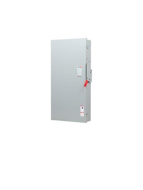Siemens Industry HF365NA 600 VAC 400 Amp 3-Pole 4-Wire NEMA 1 Heavy Duty Fusible Safety Switch