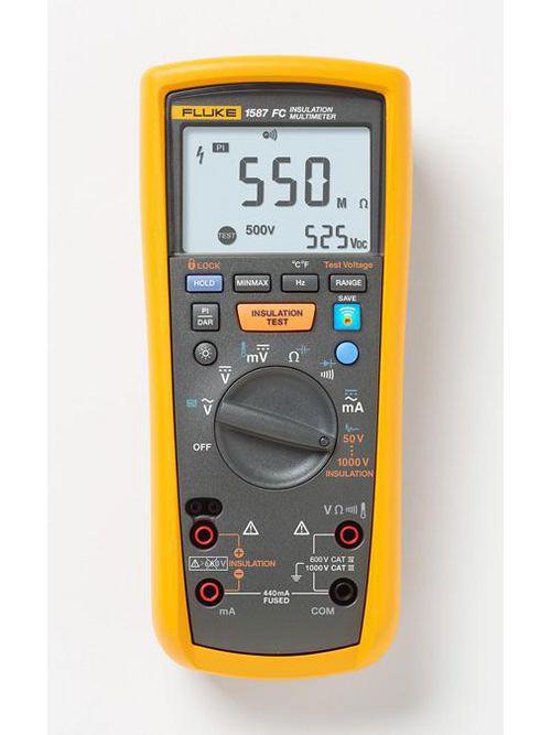 Fluke Electronics FLUKE-1587 FC 1000 Volt Insulation Multimeter