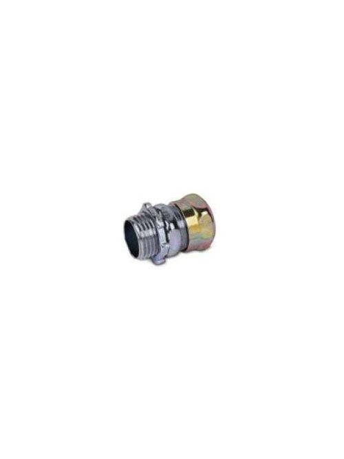 Steel City TC112AN-RT 3/4 Inch Raintight Matieral Steel EMT Conduit Compression Connector