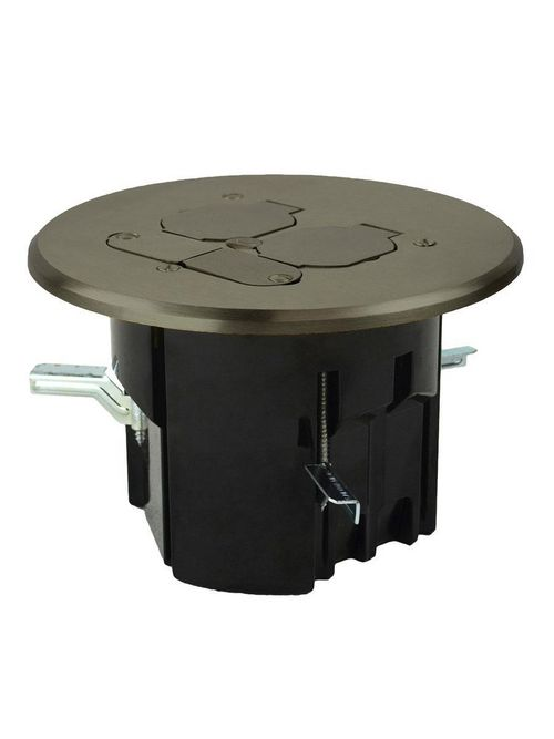 Allied Moulded Products FB-8N 3.94 x 3.43 Inch 19.5 In? Round Floor Box