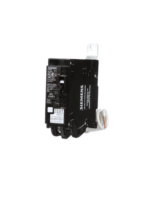 Siemens BF120AH 1-Pole Ground Fault Circuit Interrupter