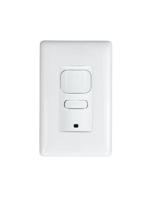 Hubbell Corp LHIRS1-G-GY LightHAWK2 1-Button Gray Single Control Infrared Wall Switch Sensor