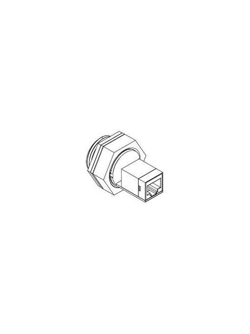 Molex Incorporated ENSP1F5 125 VDC 1.5 Amp RJ45 Female Straight Shielded Ethernet Pass-Through Receptacle