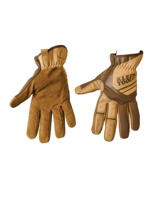 KLEIN 40228 Leather Utility Gloves,