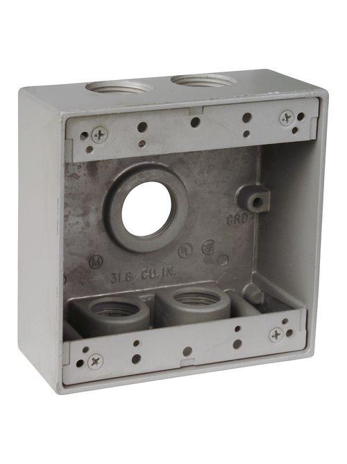 PL LTX14-6 ALUM OUTLET BOX