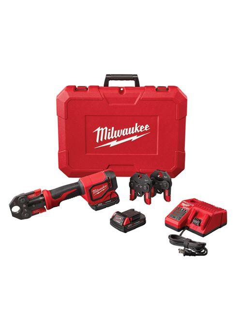 Milwaukee 2674-22C M18™ Short Throw Press Tool Kit w/ PEX Crimp Jaws