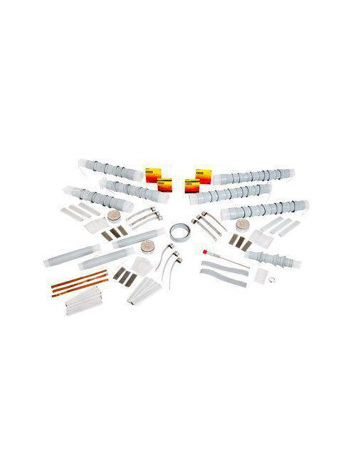 3M 5622K Cold Shrink 3 Terms/Kit Non-Skirted Termination Kit