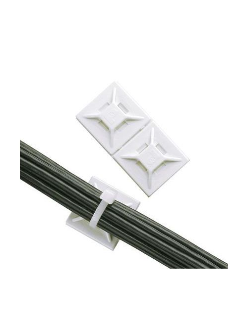 Panduit ABMM-A-C 100/Pack .75 x .75 Inch (19.1 x 19.1 mm) Adhesive Cable Tie Mount