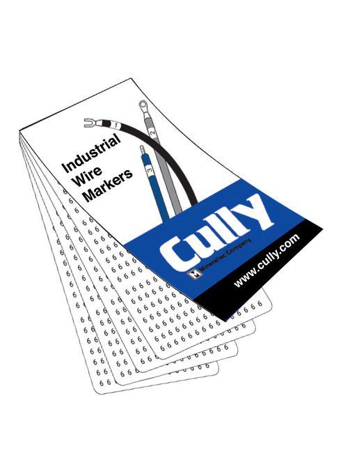 CUL CULWM045 WIRE MARKER 1-45,0