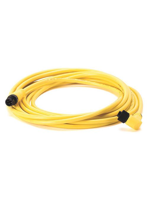 Allen-Bradley 889D-R4ACDE-10 4 Pin Yellow Unshielded DC Micro Female to Male Right Angle No Connector PVC Cable