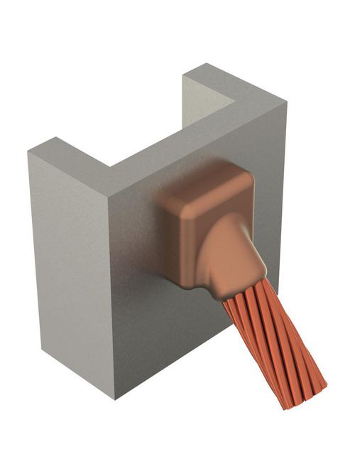 ERC VSC2GV8C MOLD,CABLE TO VERT STL