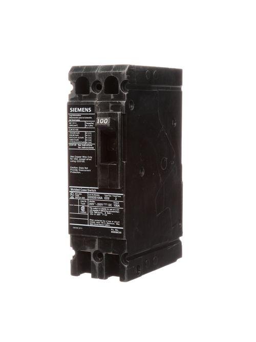 S-A ED22S100A BREAKER ED 2P 100A 24
