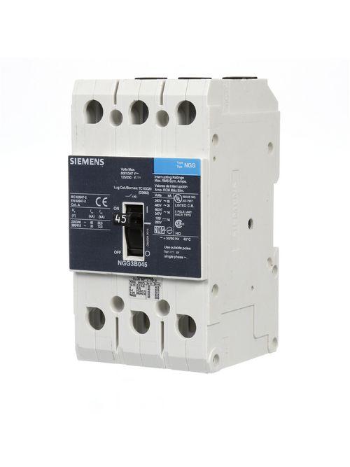 Siemens Ca NGG3B045L NGG MCCB, 600/