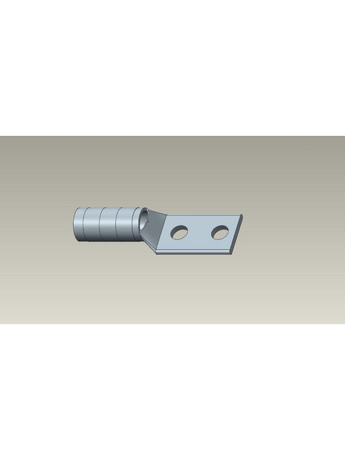 Color-Keyed 54874BEPH 2-Hole Blind End Long Barrel Connector