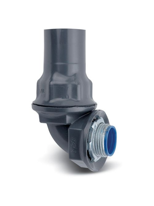Ocal ST1/290-G 1/2 Inch Inch 90 Degree Ocal Sealtight Gray Adapter