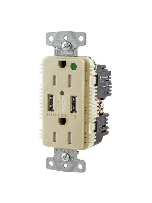 HWDK USB8200A5I RCPT HG DUP 15A 125