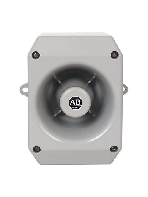 A-B 855HM-GMA10D Industrial Horn 120V AC Metal Horn